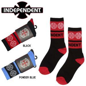 インディペンデント INDEPENDENT WOVEN CROSS SOCKS YOUTH ソックス ロングソックス ユース キッズ 靴下 スケートボード ストリート スケボー|54tide