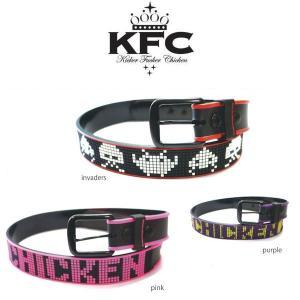 キッカーファッカーチキン KFC Kicker Fucker Chicken CANDY LOGO 目立つカラーラバーベルト|54tide