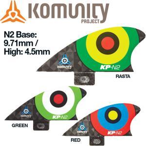 KOMUNITY PROJECT コミュニティ プロジェクト2016 Bullseye Nubsters-N2 スタビライザー サーフィン|54tide