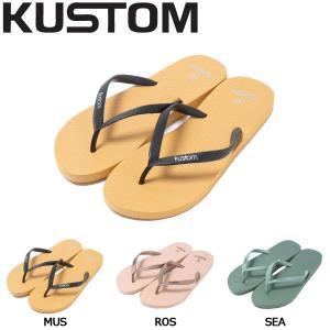 カスタム KUSTOM レディース サンダル ビーチサンダル ビーサン 23.5cm・24.5cm・25.5cm MUS ROS SEA CLASSIC|54tide