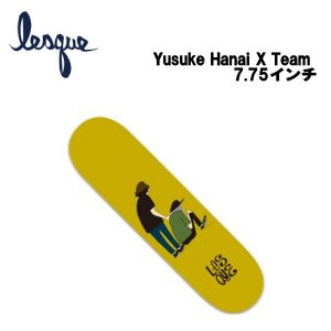 レスケ LESQUE Yusuke Hanai × Team 花井祐介 コラボデッキ スケートボード  スケート デッキ SKATE DECK SK8 スケボー 板 54tide