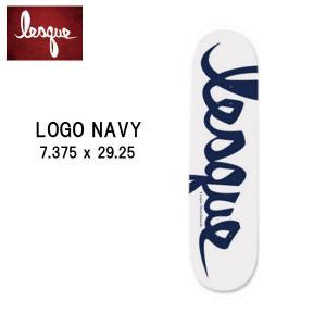 レスケ LESQUE ジュニア スケートボード 板 キッズサイズ 7.375×29.25 子供用 TEAM Logo kids 54tide