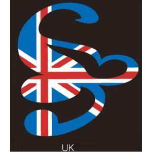 スクローバー SCLOVER LOGOステッカー カッティングステッカー UK|54tide