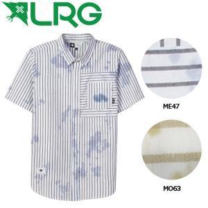 エルアールジー LRG LRG RIP TIDE SS WOVEN メンズ半袖シャツ ボタンダウンシャツ M・L 2カラー 54tide