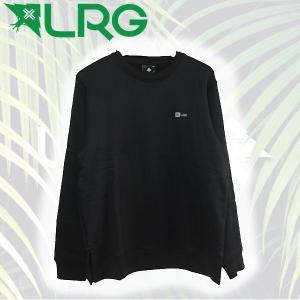 LRG エルアールジー メンズトレーナー 長袖 M Black 54tide