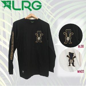 エルアールジー LRG 2016秋冬  BOSS BEAR LS TEE メンズ長袖Tシャツ ロングティーシャツ スケートボード GRIZZLY グリズリーコラボ 54tide