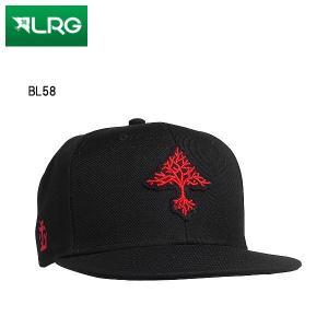 エルアールジー LRG GROW TREES SNAPBACK HAT キャップ 帽子 スナップバック スケートボード ブラック 54tide