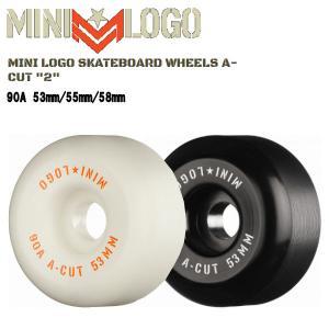 ミニロゴ MINI LOGO ウィール A-CUT ハードウィール パーク ストリート ランプ ボウル スケートボード スケボー sk8 パウエル|54tide