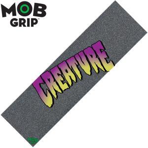モブグリップ MOB GRIP Creature Purple Logo/デッキテープ グリップテープ スケートボード スケボー/9×33インチ|54tide