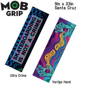 モブグリップ MOB GRIP サンタクルーズ デッキテープ グリップテープ スケートボード スケボー sk8 Santa Cruz Sheet Mob Skateboard Grip Tape|54tide