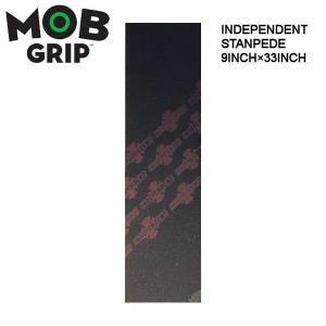 モブグリップ MOB GRIPGRIP TAPE/デッキテープ INDEPENDENT STANPEDE グリップテープ スケートボード スケボー 9×33インチ|54tide