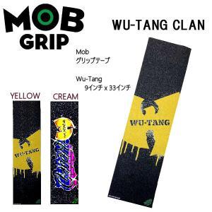 モブグリップ  MOB GRIP WU/TANG/BLACK Sheet Mob Skateboard Grip Tape ヴィジュアル デッキテープ グリップテープ スケートボード 2カラー【正規品】|54tide
