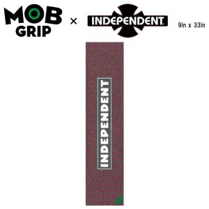 【MOB GRIP】モブグリップ INDEPENDENT REPEAT CROSS インデペンデント インディー グリップテープ Grip Tape デッキテープ  スケートボード 9×33インチ|54tide
