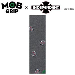 【MOB GRIP】モブグリップ INDEPENDENT SUDS インデペンデント インディー グリップテープ Grip Tape デッキテープ  スケートボード スケボー 9×33インチ|54tide