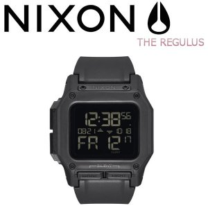 ニクソン NIXON レグルス メンズ レディース ユニセックス デジタル ウォッチ 腕時計 ALL BLACK THE REGULUS|54tide