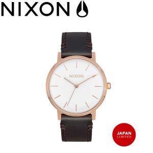 ニクソン NIXON ポーター35 レザー メンズ レディース ユニセックス ウォッチ 腕時計 GOLD/BROWN JPN THE PORTER 35 LEATHER|54tide
