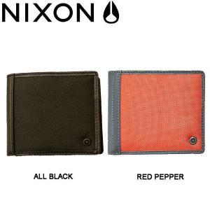 NIXON ニクソン 2014春夏 HUTTON TRI-FOLD WALLET メンズウォレット 二つ折り財布 小銭入れあり|54tide