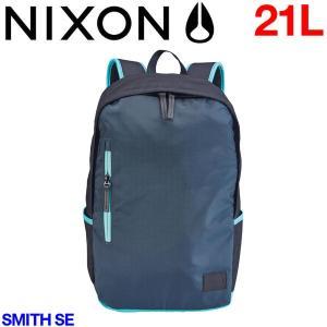 【NIXON】ニクソン Smith Se メンズバックパック リュックサック バッグ 21L BlackAruba|54tide