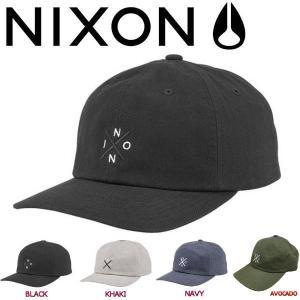 NIXON ニクソン PREP STRAPBACK メンズキャップ ストラップバックキャップ 帽子 4カラー|54tide