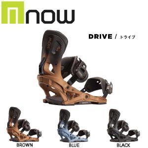 予約受付中 特典あり ナウ NOW メンズ レディース ビンディング スノーボード バイン S・M 3カラー DRIVE|54tide