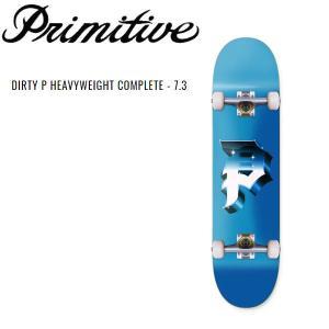 プリミティブ Primitive DIRTY P HEAVYWEIGHT COMPLETE キッズ  コンプリート 子供 初心者 スケートボード デッキ 板  完成品|54tide
