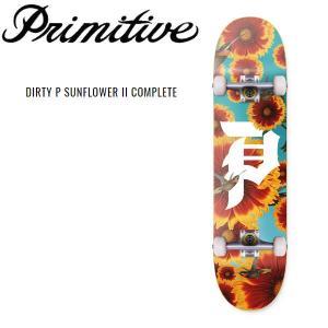 プリミティブ Primitive DIRTY P SUNFLOWER II COMPLETE ポール・ロドリゲス  コンプリート メンズ 初心者 スケートボード デッキ 板  完成品|54tide