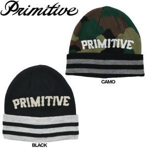 Primitive プリミティブ PRI SLAB TYPE BEANIE メンズビーニー 折り返し ニット帽|54tide