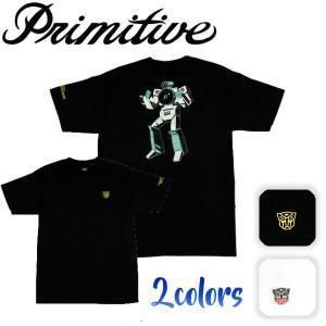 Primitive プリミティブ Vx T-Shirt メンズTシャツ Tee 半袖ティーシャツ トランスフォーマー M-L 2カラー|54tide