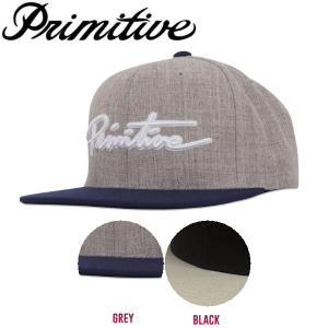 プリミティブ Primitive NUEVO SCRIPT SNAPBACK メンズ スナップバック キャップ 帽子|54tide