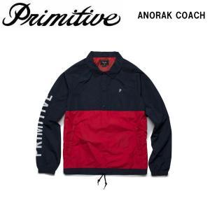 プリミティブ Primitive メンズ アノラックジャケット コーチジャケット アウター トップス ANORAK COACH|54tide