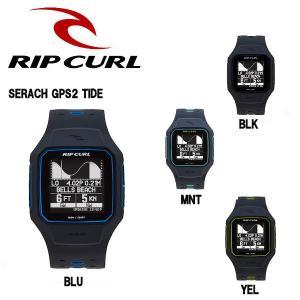 リップカール RIP CURL メンズウォッチ デジタル腕時計 GPS付き TIDE タイドチャート 4カラー SEARCH GPS2 TIDE|54tide