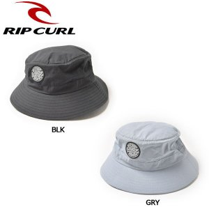 リップカール RIP CURL メンズ サーフハット 帽子 マリンスポーツ 2カラー WETTY SURF HAT|54tide