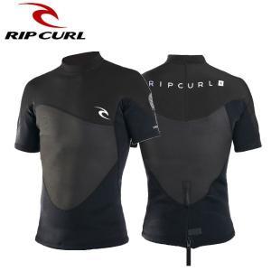 リップカール RIP CURLメンズ ウェットスーツ タッパー ラッシュガード サーフスーツ OMEGA 1.5MM SHORT SLEEVE JACKET|54tide