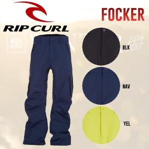 RIP CURL リップカール FOCKER PT メンズスノーパンツ スノーボードウェア 3カラー M・L|54tide