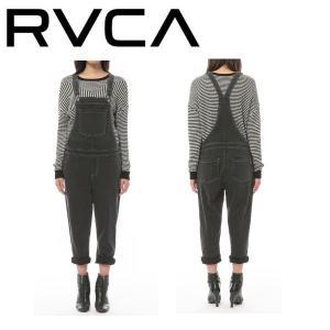RVCA ルーカ SWEETNESS レディース オーバーオール デニム ボトムス パンツ|54tide