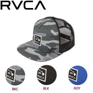 ルーカ RVCA メンズ メッシュキャップ 帽子 スナップバック BKC・BLK・ROY ISLAND PATCHTRUCKER 54tide