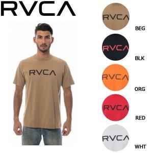 ルーカ RVCA メンズ 半袖 Tシャツ トップス ティーシャツ BIGロゴ S・M・L 5カラー BIG RVCA SS|54tide