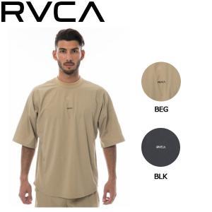 ルーカ RVCA メンズ 半袖 Tシャツ トップス ティーシャツ セットアップTシャツ S・M・L 2カラー SMALL NEW WORLD SS|54tide