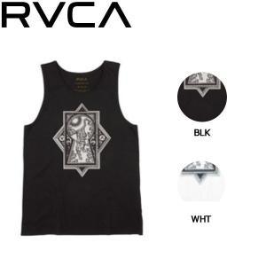 ルーカ RVCA メンズ タンクトップ ノースリーブ トップス S・M・L 2カラー TIGRE TANK 54tide