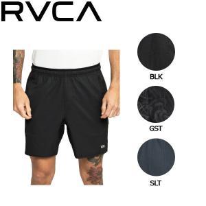 ルーカ RVCA メンズ トレーニングショーツ ハーフパンツ ショートパンツ ボトムス S・M・L 3カラー RVCA SPORT YOGGER STRETCH|54tide