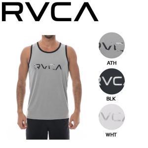 ルーカ RVCA メンズ ハイブリッドタンクトップ ノースリーブ トップス ラッシュガード サーフTEE RVCA SPORT S-XL 3カラー BIG RVCA TANK 54tide