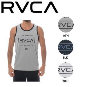 ルーカ RVCA メンズ ハイブリッドタンクトップ ノースリーブ トップス ラッシュガード サーフTEE RVCA SPORT S-XL 3カラー STACKED|54tide
