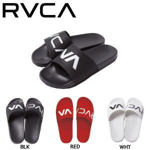 ルーカ RVCA メンズ ビーチサンダル ビーサン シャワーサンダル 26cm 27cm 28cm BLK・RED・WHT SHOWER SANDAL|54tide