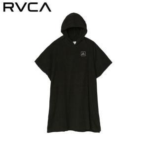 ルーカ RVCA メンズ レディース ポンチョ お着替えポンチョ バスタオル サーフィン サーフ用品 RVCA SURF PONCHO
