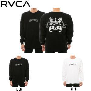 ルーカ RVCA CREST LS TEE ルーカ メンズ クレスト ロングスリーブ Tシャツ ロンT トップス|54tide