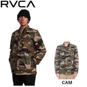 ルーカ RVCA VENOM CAMO JKT メンズ ベノム カモ ジャケット アウター キルティング スケートボード サーフィン アウトドア|54tide