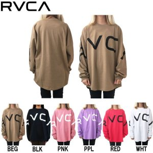 ルーカ RVCA レディース 長袖Tシャツ ロングスリーブ ティーシャツ ロンT トップス OVERSIZE FIT 54tide