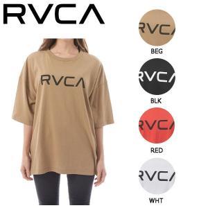 ルーカ RVCA レディース 半袖 Tシャツ トップス ティーシャツ BIGロゴ XS・S 4カラー BIG BIG RVCA SS 54tide