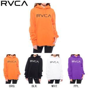 ルーカ RVCA BOTTOM LINE RVCA HOOD ルーカ レディース ボトムライン パーカー プルオーバー スウェット トップス|54tide