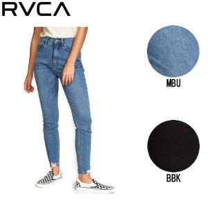 ルーカ RVCA SOLAR HIGH RISE JEANS ルーカ レディース デニムパンツ ロングパンツ 24~26インチ|54tide
